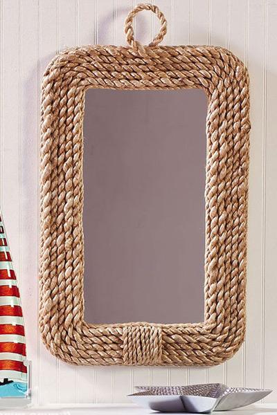 Diy for Como decorar un espejo rectangular sin marco
