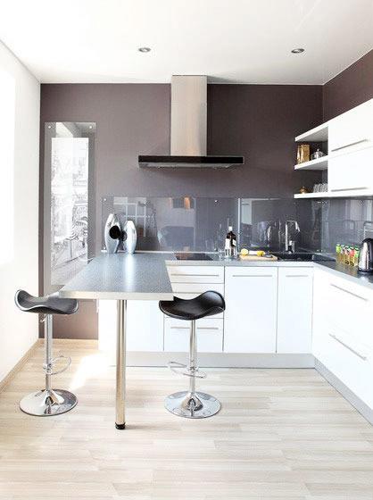 厨房吧台桌设计