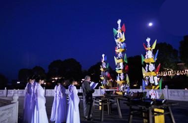 厦门月亮夜景图片