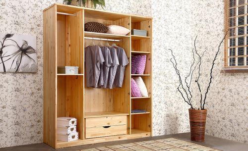 安全材质的卧室衣柜 保障安全品质生活