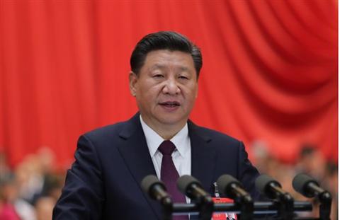 习近平说,新时代中国特色社会主义思想是全党全国人民为实现中华民族伟大...
