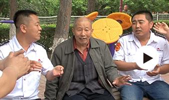 吉林交通广播《好人帮》栏目组陪孤寡老人提前过端午