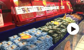 月饼走俏国庆、中秋市场