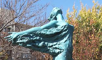 """26件雕塑走进公园和街头 让市民""""零距离""""感受雕塑魅力"""