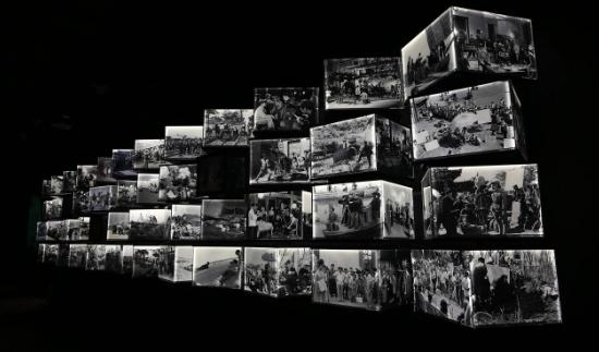 72幅电影美术气氛图在长影旧址博物馆展出