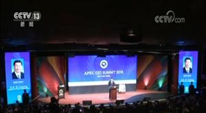 习近平出席亚太经合组织工商领导人峰会并发表主旨演讲 强调世界经济发展...