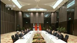 习近平会见韩国总统
