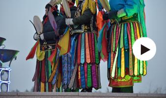 【家国网聚 网络旺年】前郭蒙古族春节祭火节纪实