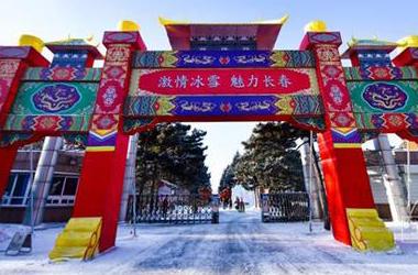 长春南湖公园41座冰雪作品邀您观赏