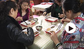 社区长者饭堂让老年人吃饱吃好