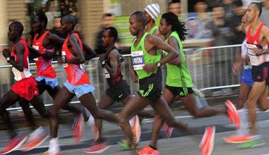 """德国、美国、肯尼亚等超过16个国家选手参赛""""长马"""""""