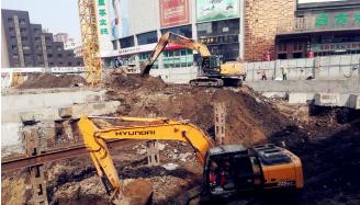 澳门博彩在线娱乐地铁2号线东盛大街站结构工程...