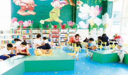 无需申请自动送彩金58市首家设在医院内的少儿图书馆对外开放
