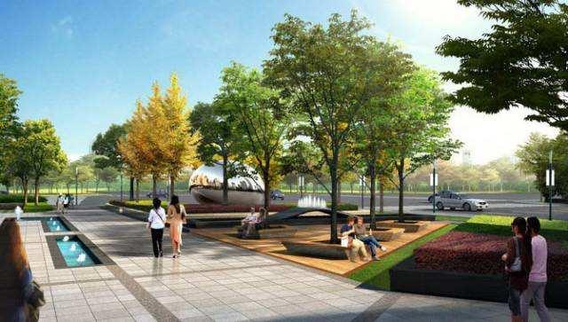 """南部新城""""清水音公园"""" 预计9月向市民开放 部分景观工程基本建成"""