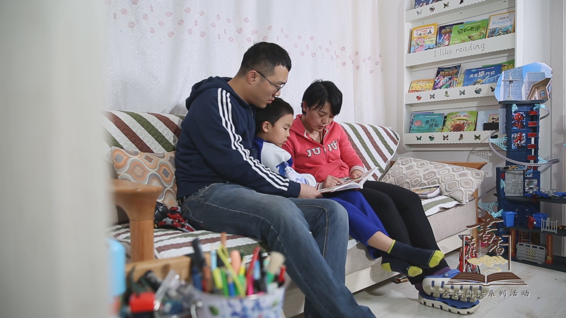书香之家-王锦卓家庭