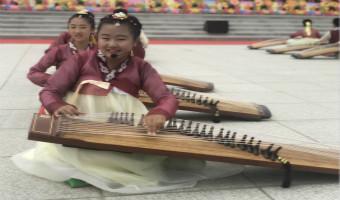 来了解一下伽倻琴吧~#中国朝鲜族