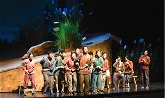 吉艺出品的大型原创儿童话剧《小英雄雨来》!10月11、12日进行首演 !