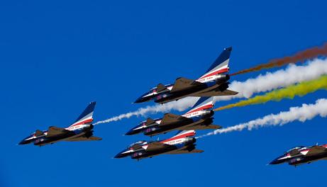 庆祝空军70年 见证强军新时代 航空工业精彩亮相空军航空开放活动