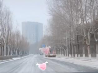 大长春也下雪啦