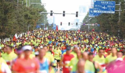 定了!2019无需申请自动送彩金58国际马拉松将于5月26日鸣枪开跑
