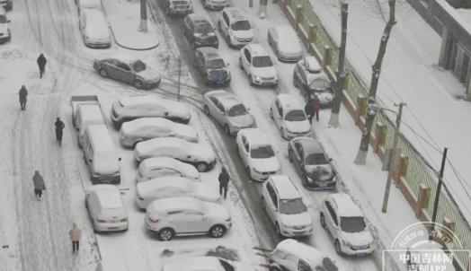 吉林省气象台共发布110条气象预警,其中暴雪黄色预警5条,实属罕见