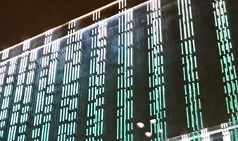 精致的玻璃幕墙