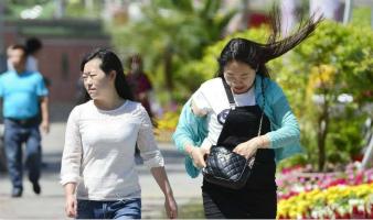 今日长春: 高温34℃+5-6级大风
