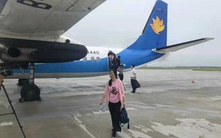 查干湖機場又增新航線 哈爾濱—松原—長白山航線首航
