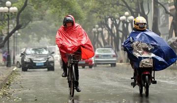 今天省内大部分地区有雨