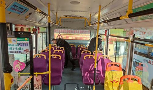 巴士公司二车队提前做好入冬准备工作