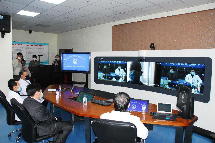 吉林省人民医院搭建远程医疗会诊