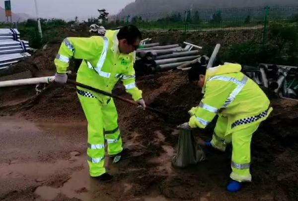 吉林省高速公路全体工作人员积极有效应对台...