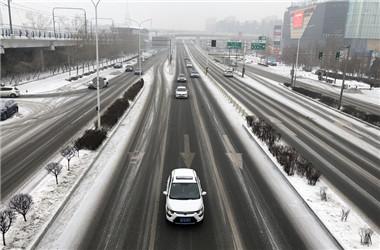 吉林省发布道路冰雪蓝色预警