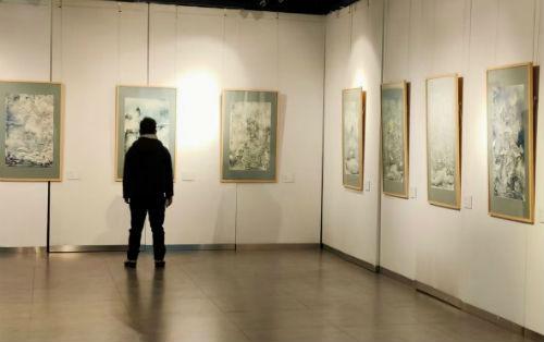 """""""澡雪精神——罗霄中国画作品展""""在吉林省美术馆开幕"""