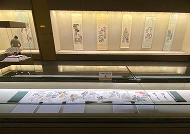 吉林省博物院院藏陈半丁花鸟画展开幕