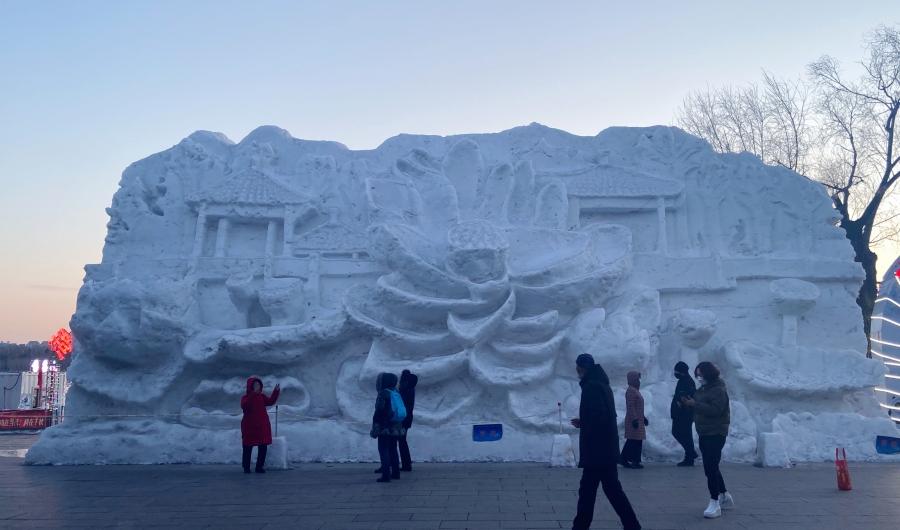 """快来抓住冬日的""""小尾巴"""" 长春多个公园冰雪项目即将关闭"""