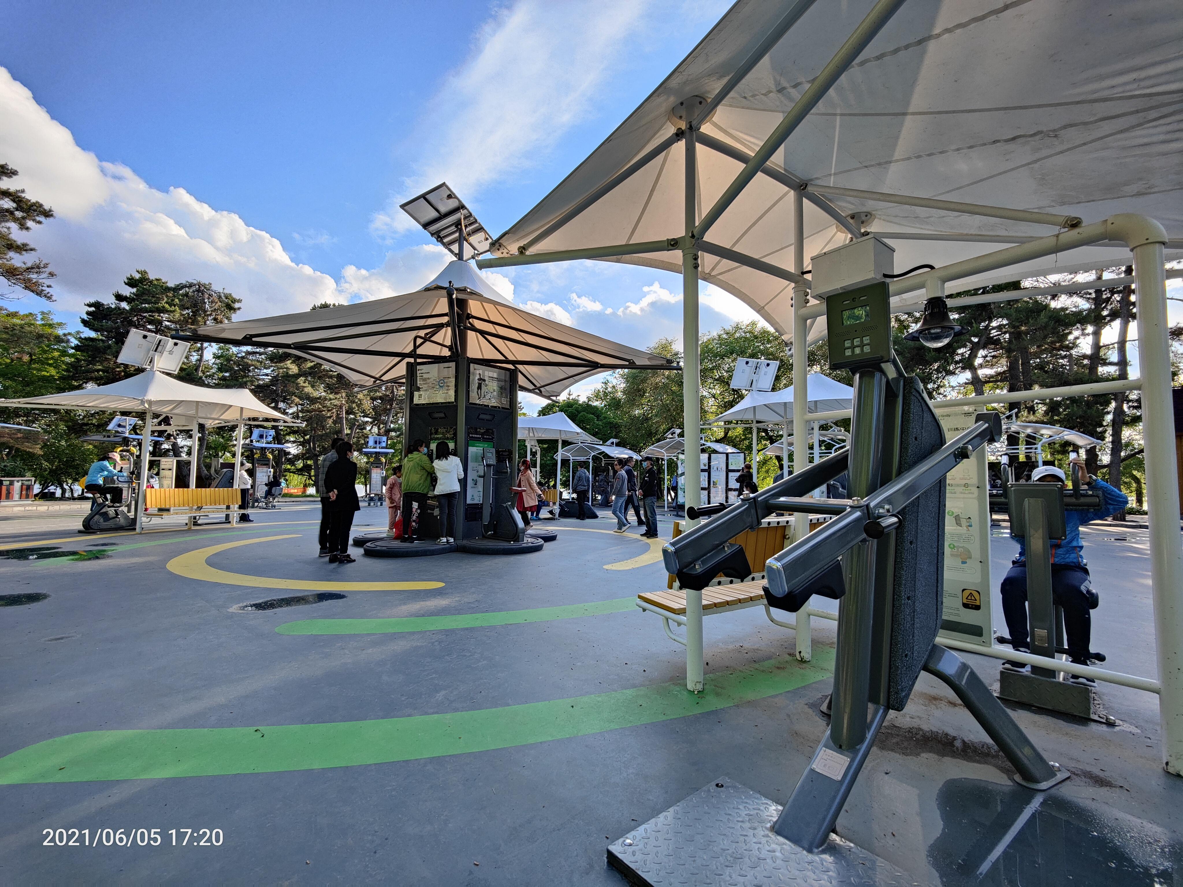 """长春南湖公园这个""""智能健身房""""你去打卡了吗?"""