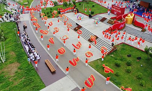 """吉林经济广播""""我心向党——千人共舞""""大型广场舞活动成功举办"""